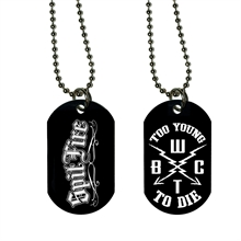 SpitFire - Too young to Die DogTag