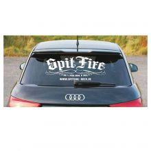 SpitFire - Heckscheibenaufkleber 60x35cm