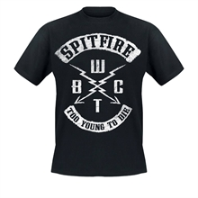 SpitFire - Too Young To Die, T-Shirt