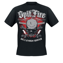 SpitFire - Hell & High Water, T-Shirt